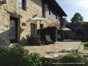 terraza apartamento Agapanto